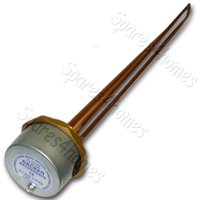 27 Immersion Heater Copper Hot Water Element Thermostat Backersafe