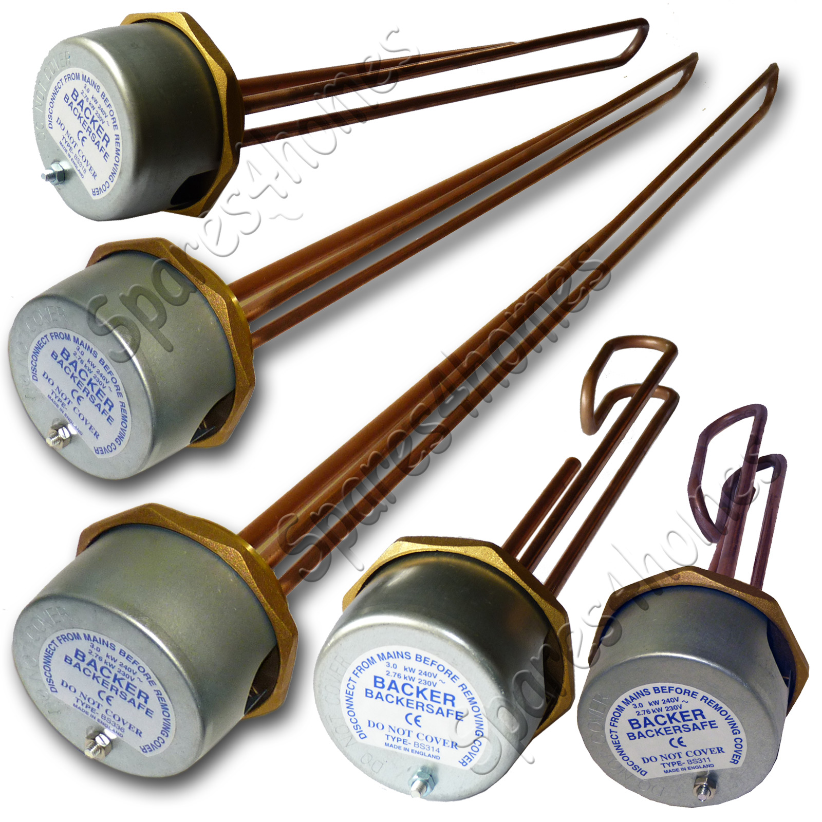 Immersion Heater Spares - Hot Water Heater Spares | Spares4Homes